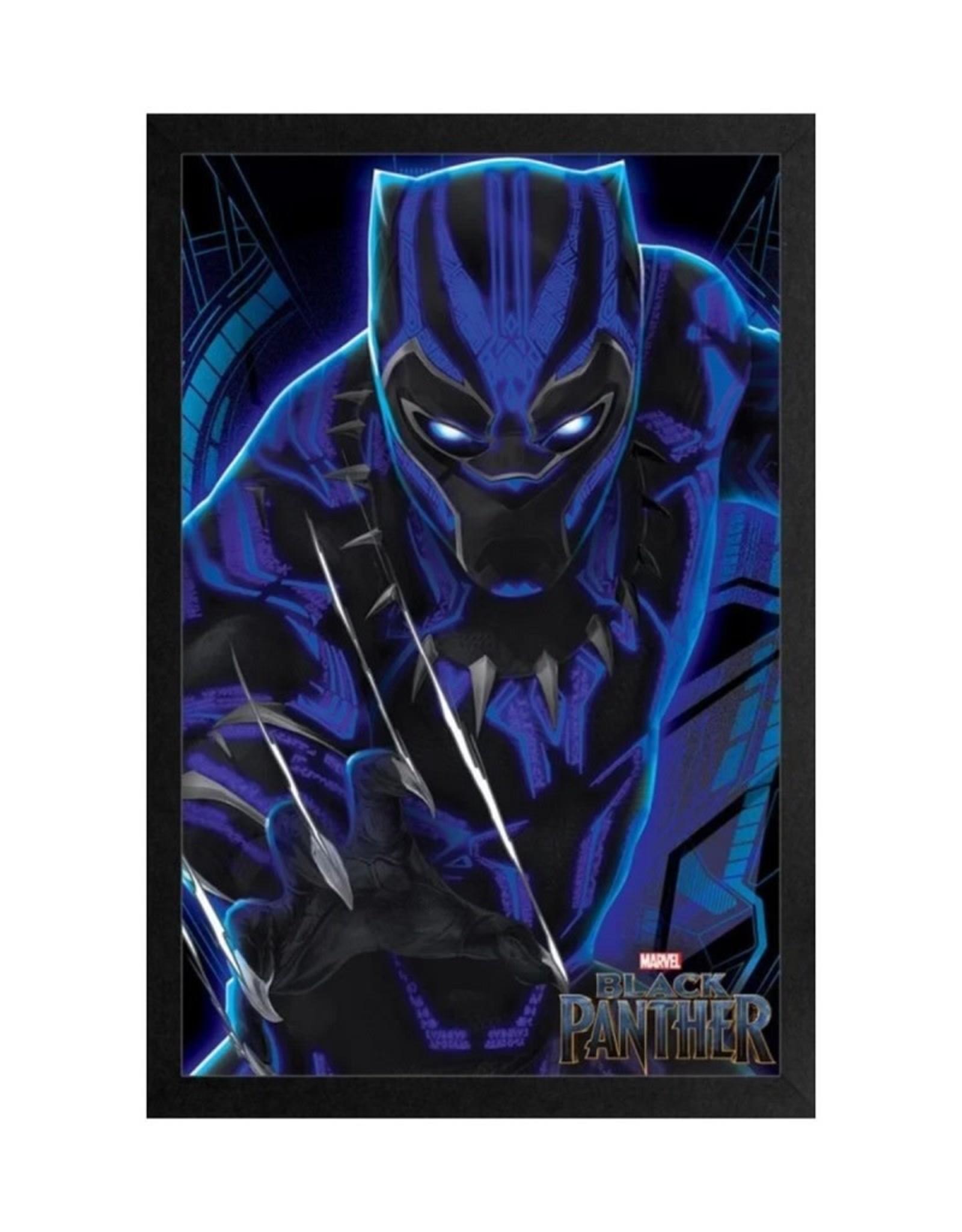 Marvel Black Panther ( Framed print )  Claw Rip