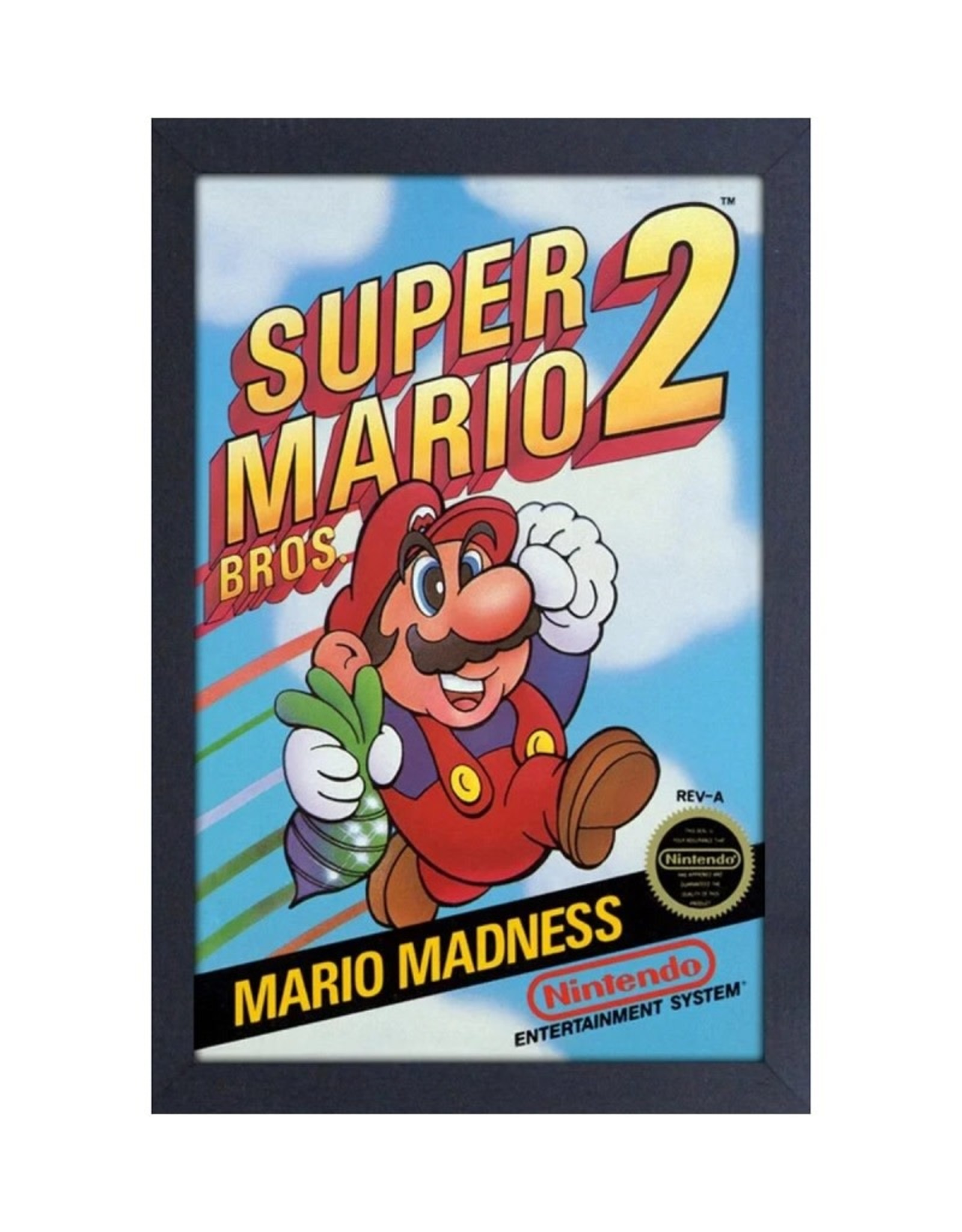 Super Mario Bros. 2 ( Framed print )  Cover