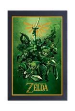 Zelda Zelda ( Framed print ) Links