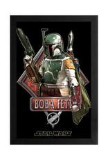 Star Wars Star Wars ( Framed print ) Boba Fett