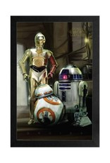 Star Wars Star Wars  ( Framed print ) Robots