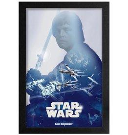 Star Wars Star Wars ( Framed print ) Luke Skywalker