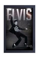 Elvis Elvis ( Framed print ) Let's Rock