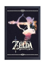 Zelda Zelda ( Framed print ) Silhouette