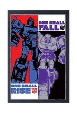 Transformers ( Framed print ) Rise And Fall