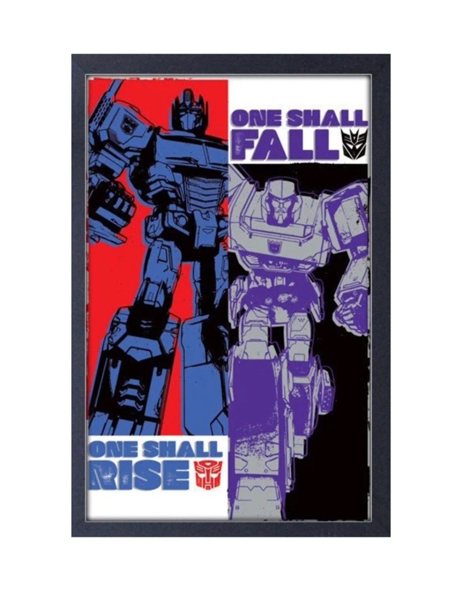 Transformers Transformers ( Framed print ) Rise And Fall
