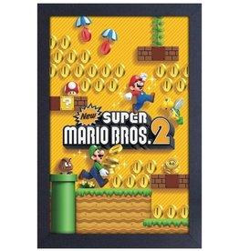 Super Mario Super Mario ( Framed print ) Super Mario Bros 2