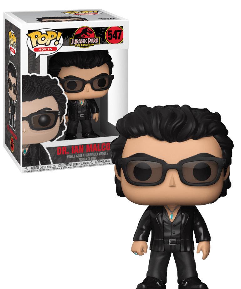 Jurassic Parc 547 ( Funko Pop ) Dr. Ian Malcolm