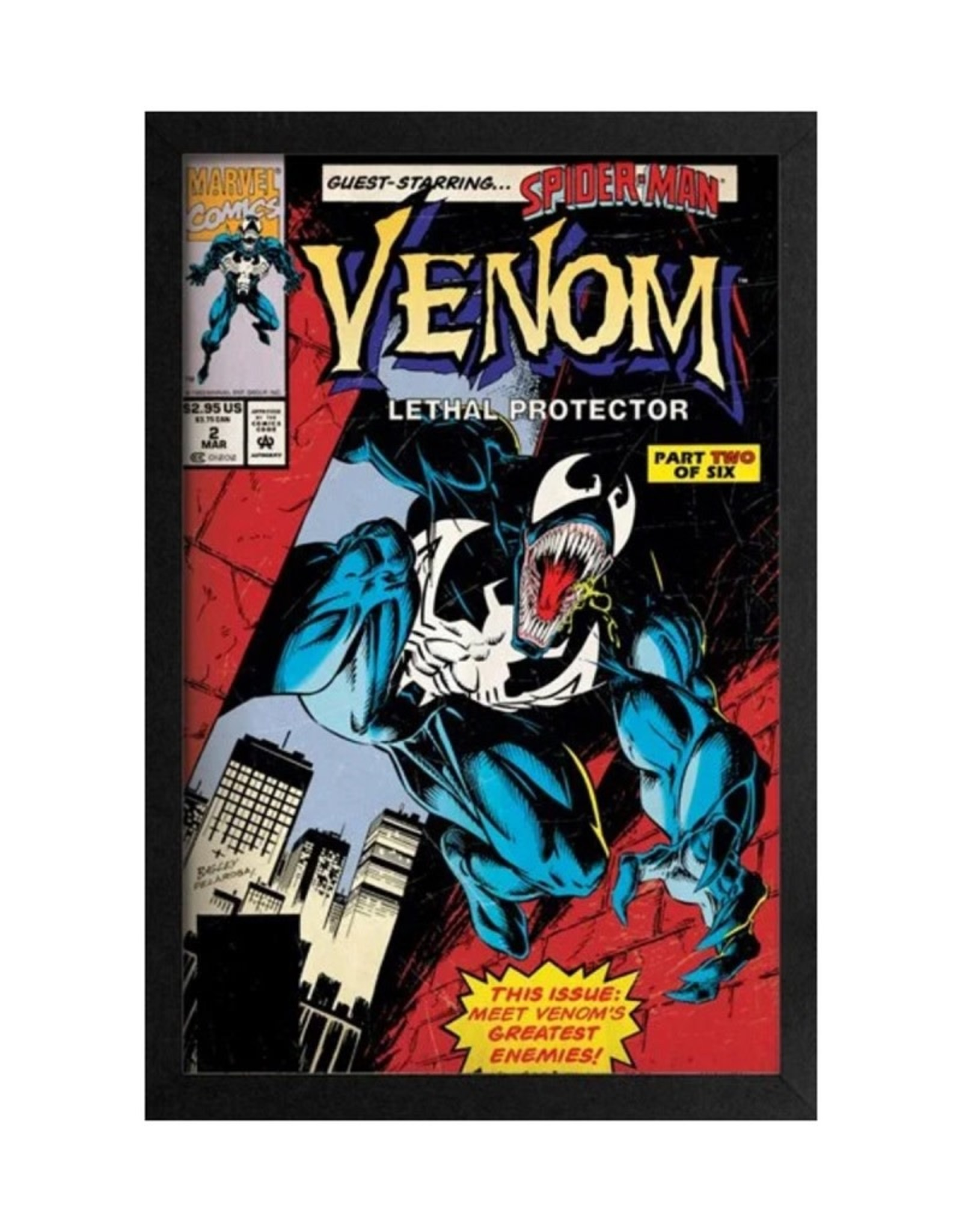 Marvel Venom ( Framed print ) Lethal Protector