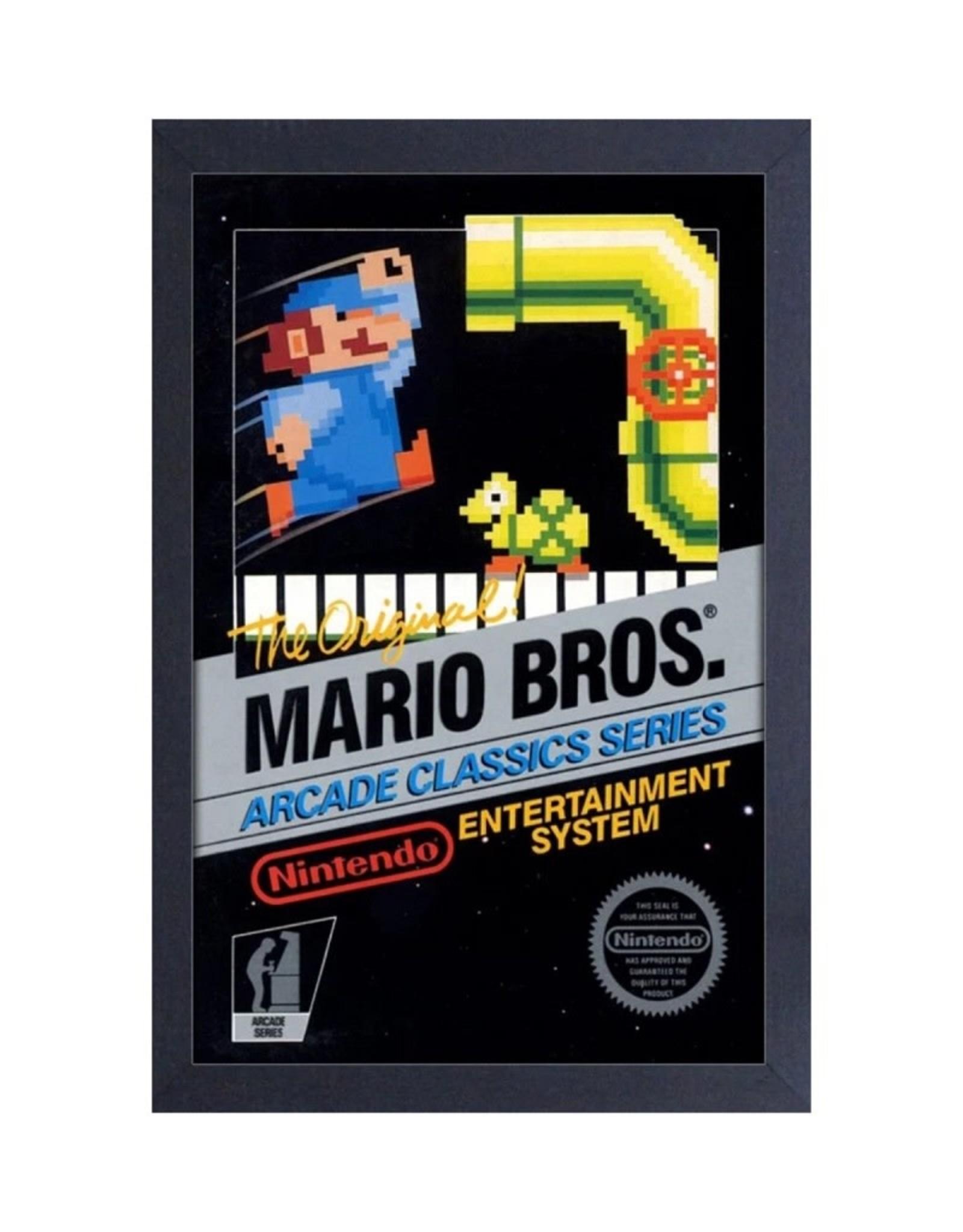 Super Mario Mario Bros ( Framed print )  Original