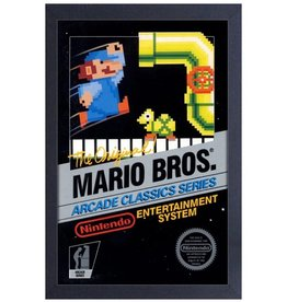 Super Mario Mario Bros ( Framed print )  Original