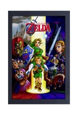 Zelda Zelda ( Framed print )  Oarina