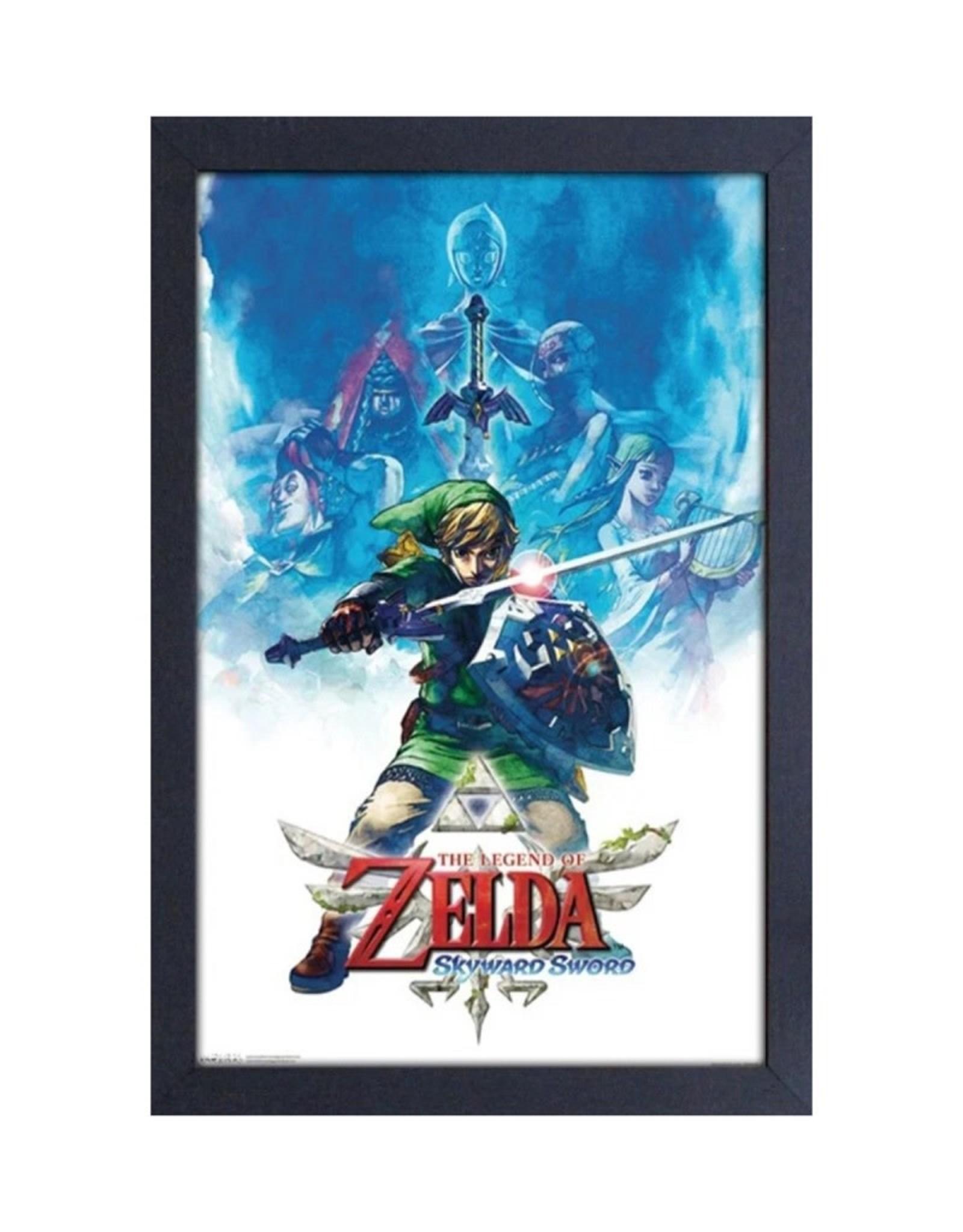 Zelda Zelda ( Framed print) Skyward Sword Drawing
