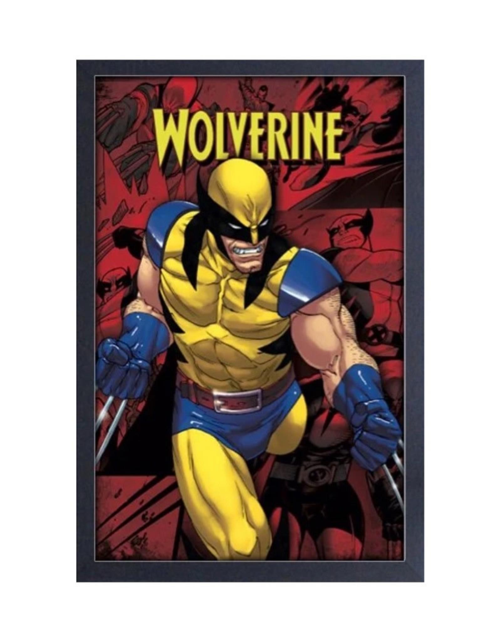 Marvel X-Men ( Framed print ) Wolverine Scowl