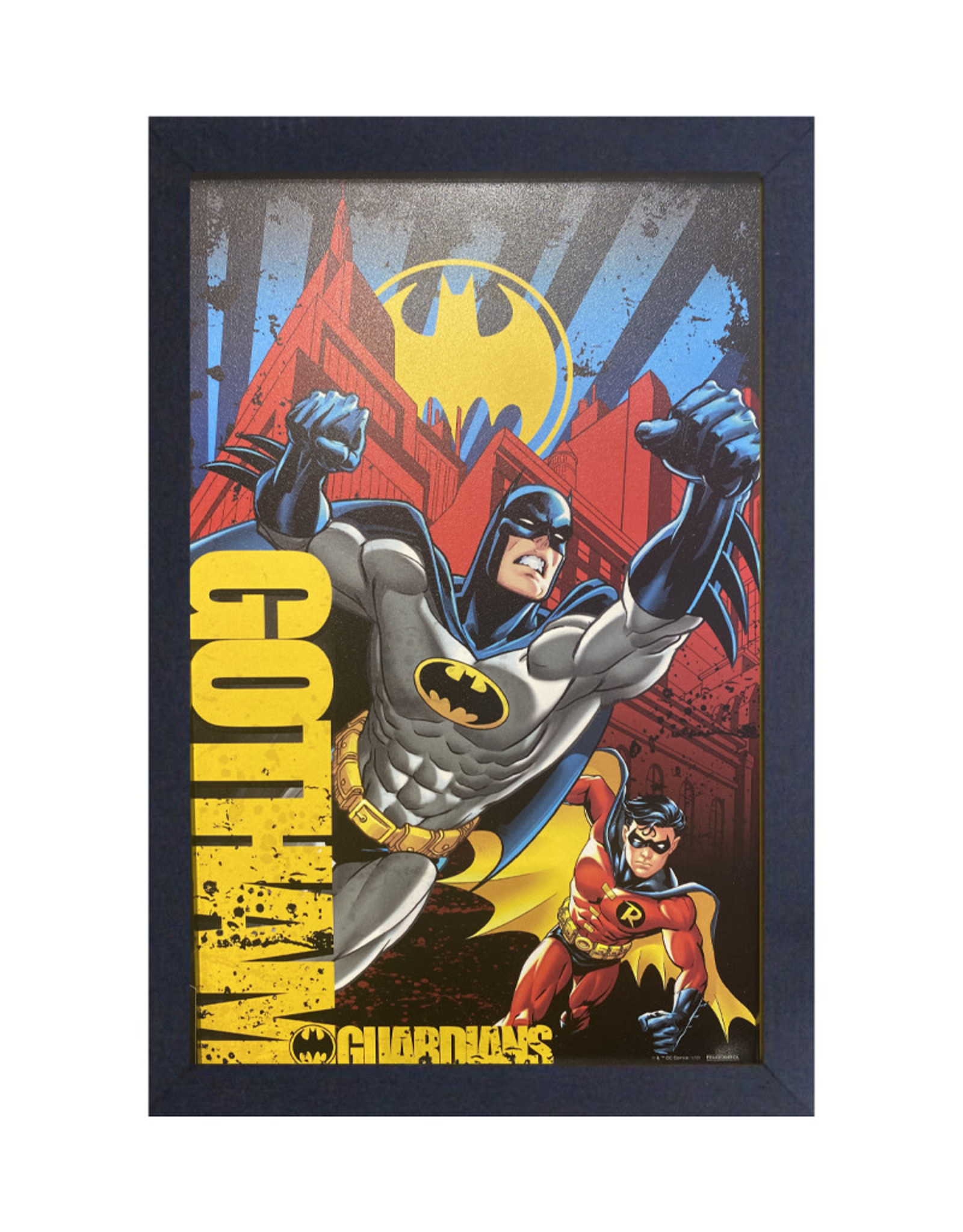 Batman ( Framed print ) Gotham Guardians