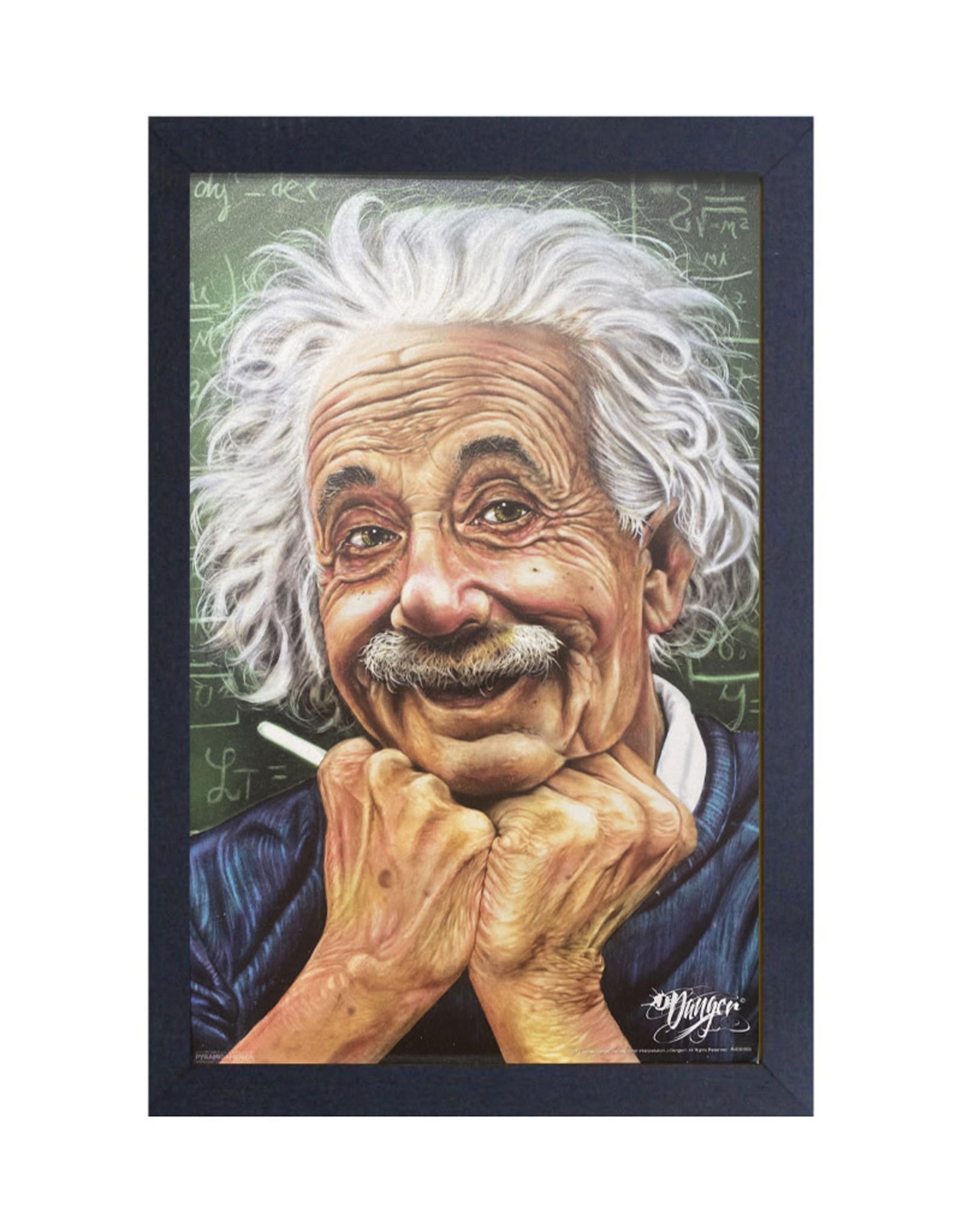 Einstein ( Framed print ) Pi Multiple
