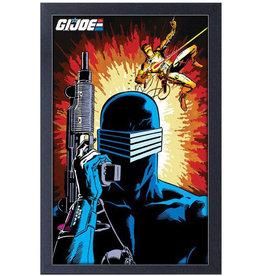 G.I Joe  ( Framed print ) Snake eyes