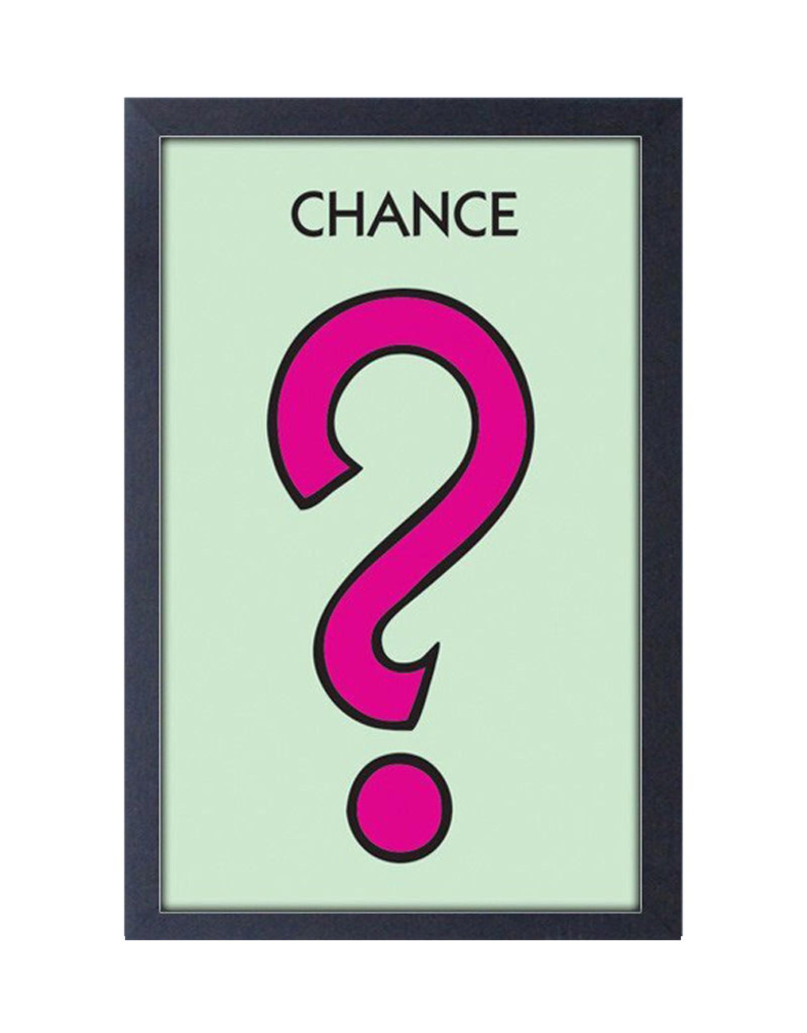 Monopoly ( Framed print ) Chance