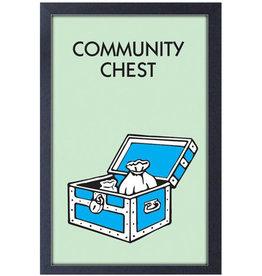 Monopoly ( Framed print ) Community Chest