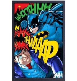 Batman ( Framed print ) Batman vs Penguin
