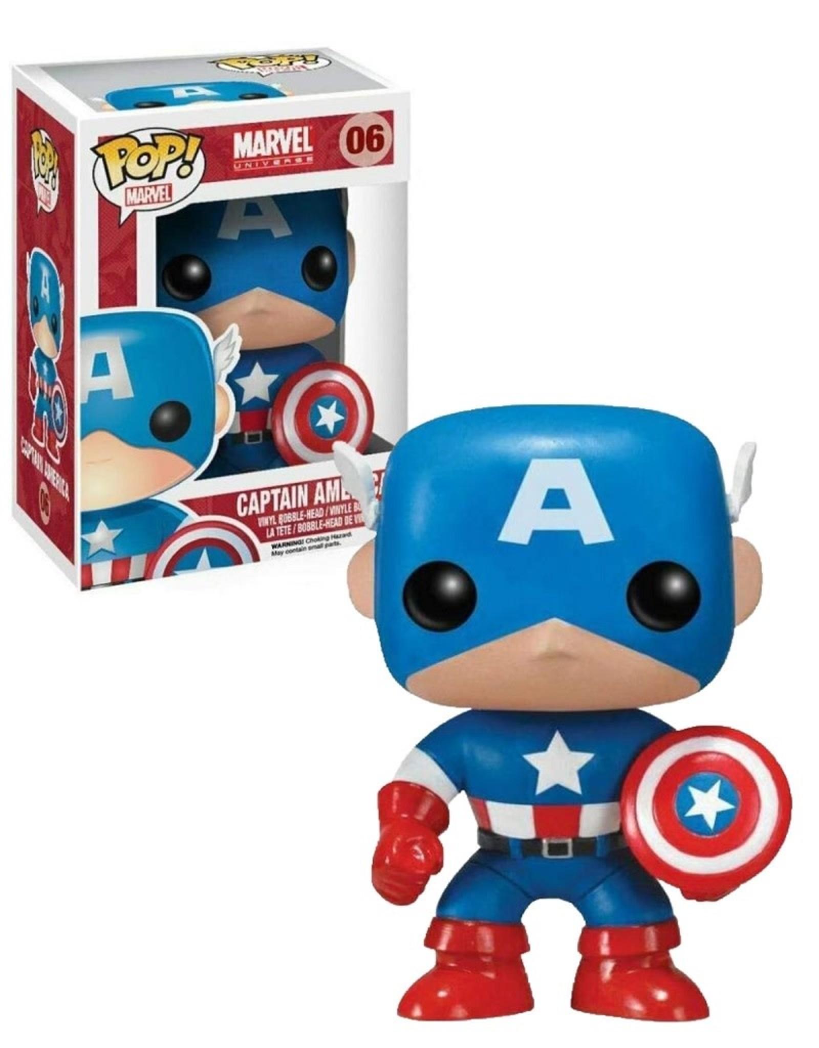 Marvel Marvel 06 ( Funko Pop ) Captain America
