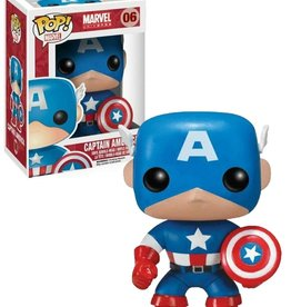 Marvel Marvel 06 ( Funko Pop ) Capitaine  America