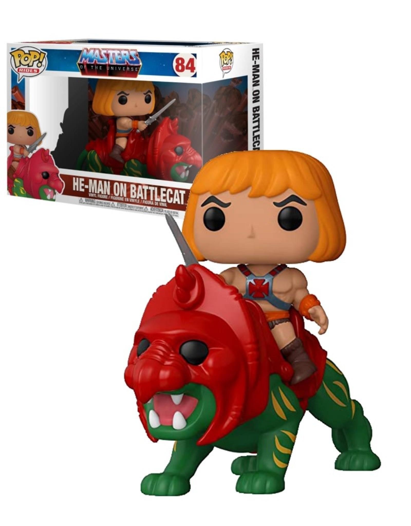 He-Man on Battlecat 84 ( Funko Pop )