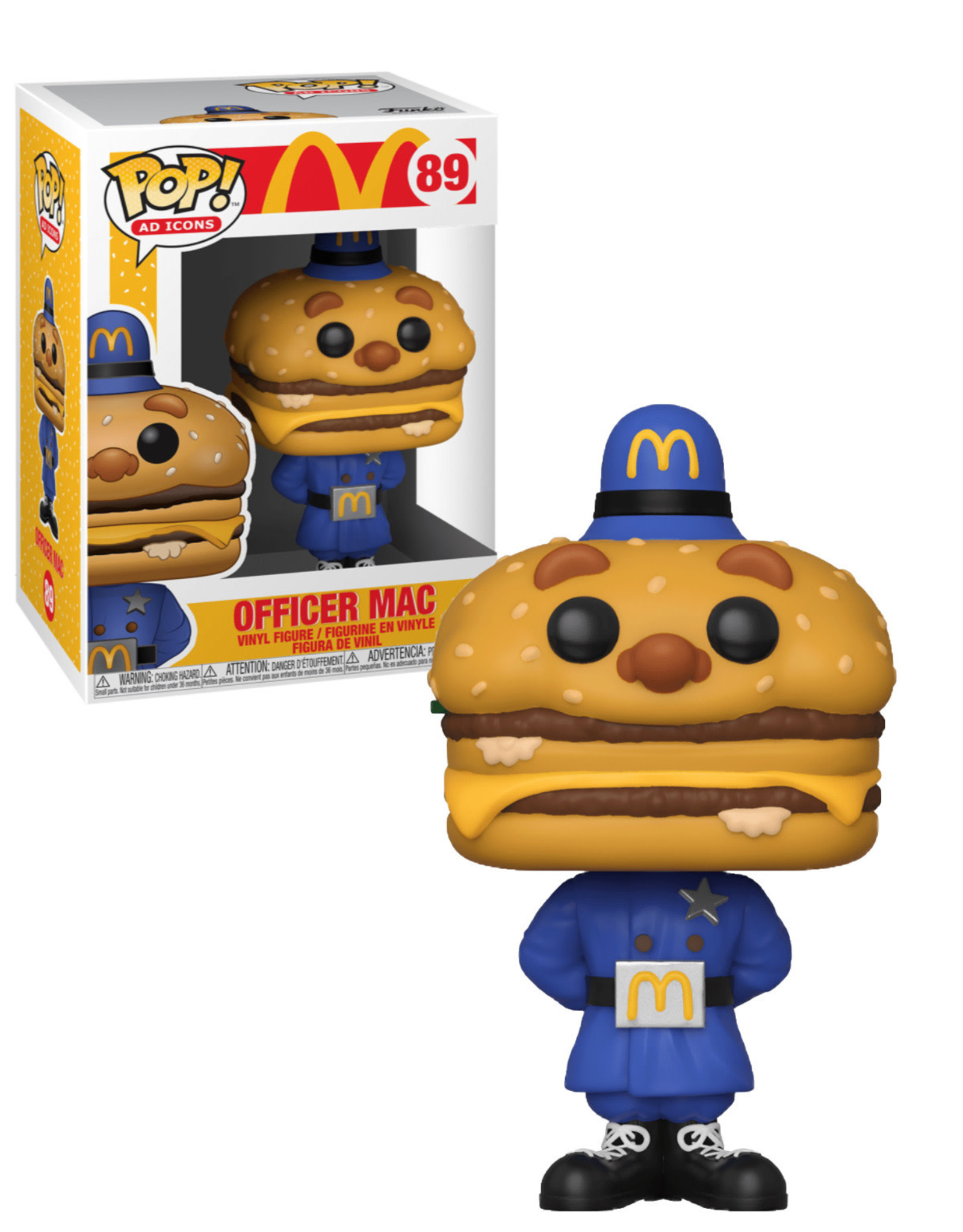 McDonald 85 ( Funko Pop ) Officer Mac