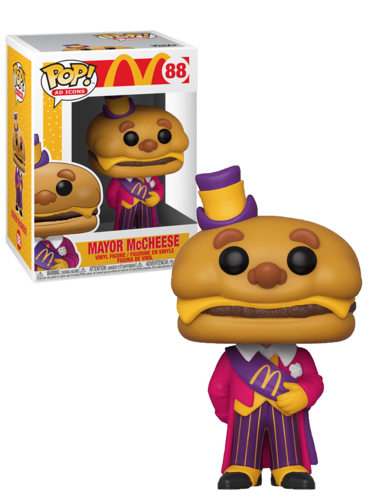 Mc Donald 88 ( Funko Pop ) Mayor Mc Cheese