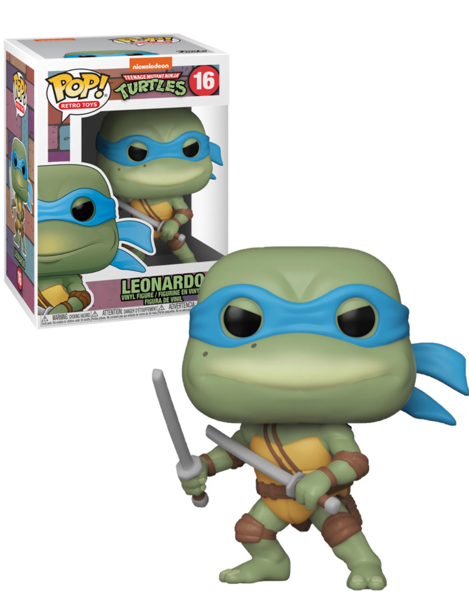 Teenage Mutant Ninja Turtles 16 ( Funko Pop ) Leonardo