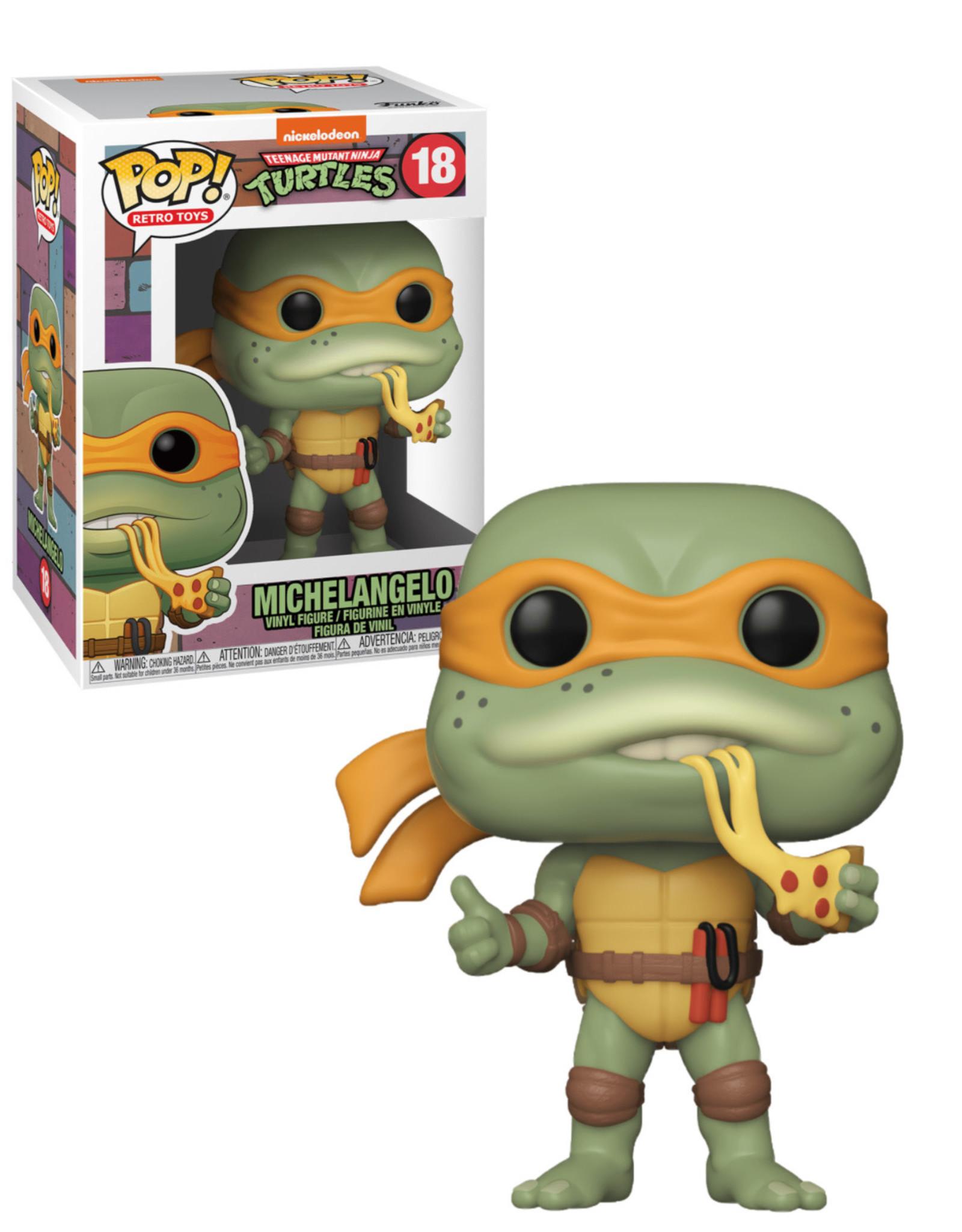 Teenage Mutant Ninja Turtles 18 ( Funko Pop ) Michelangelo