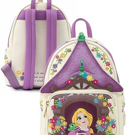 Disney ( Mini Sac à Dos Loungefly ) Chateau Raiponce
