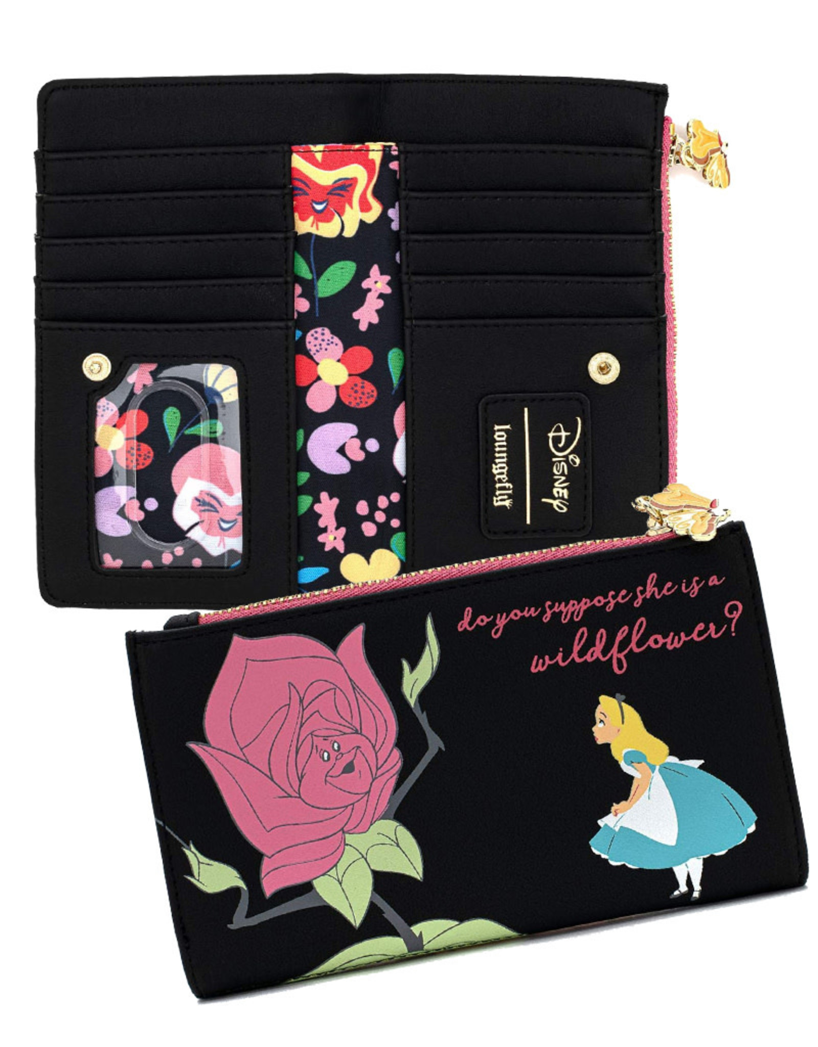 Disney Disney ( Loungefly Wallet  ) Alice