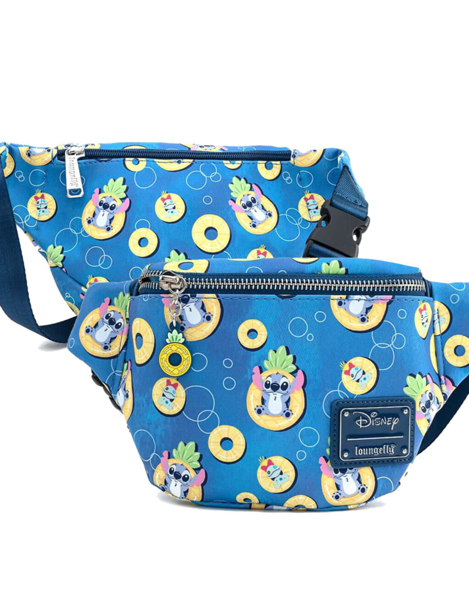 Disney Disney ( Loungefly Fanny Pack  ) Stitch et Scrump