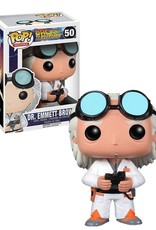Back to the Future 50 ( Funko Pop ) Dr. Emmett Brown