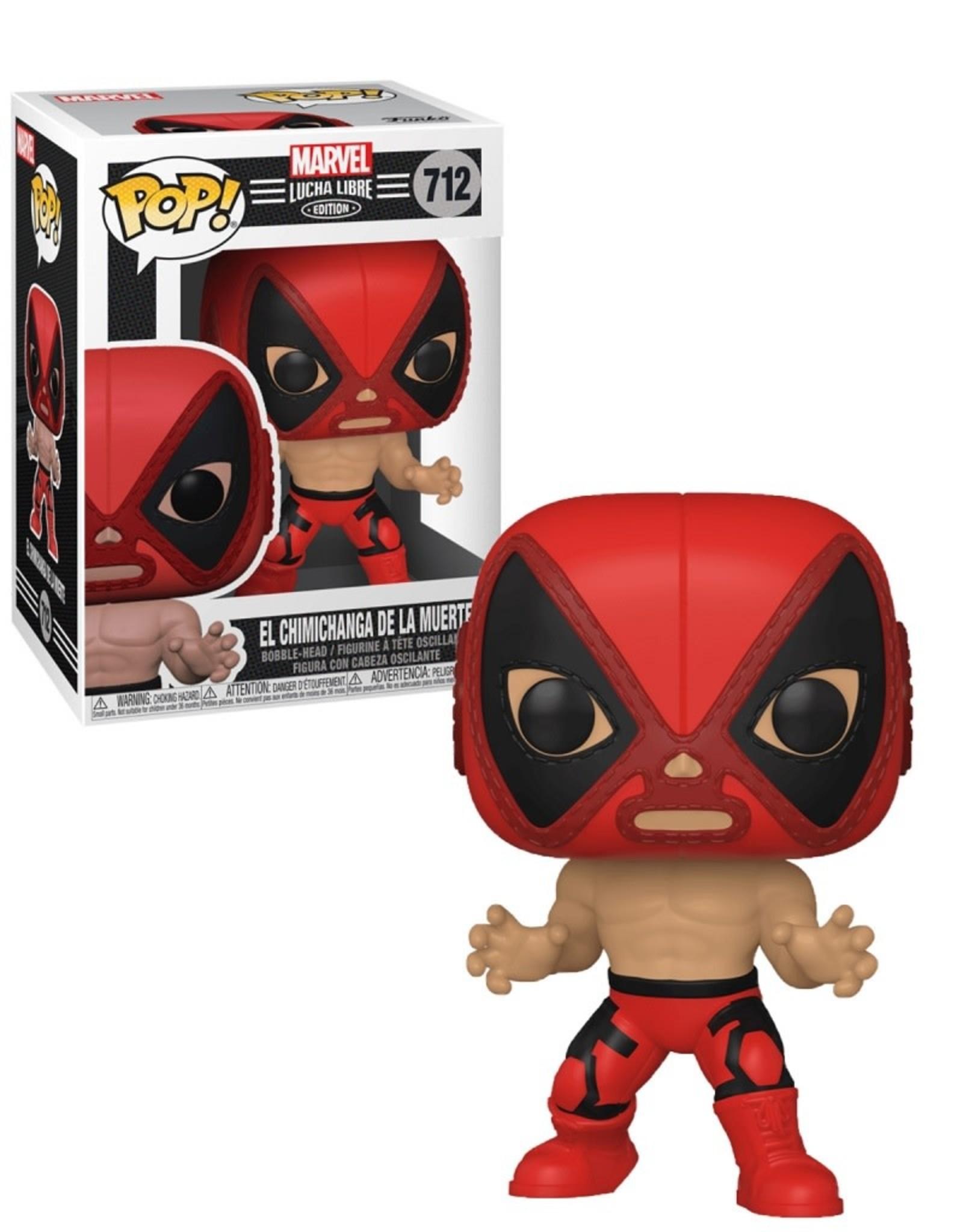 Marvel Marvel Lucha Libre 712 ( Funko Pop ) El Chimichanga de la Muerte