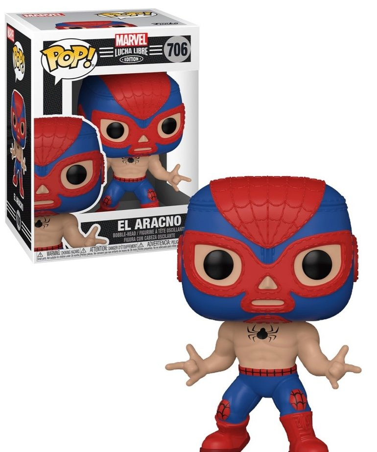 Marvel Marvel Lucha Libre 706 ( Funko Pop ) El Aracno