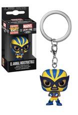Marvel Marvel Lucha Libre ( Funko Keychain ) El Animal Indestructible