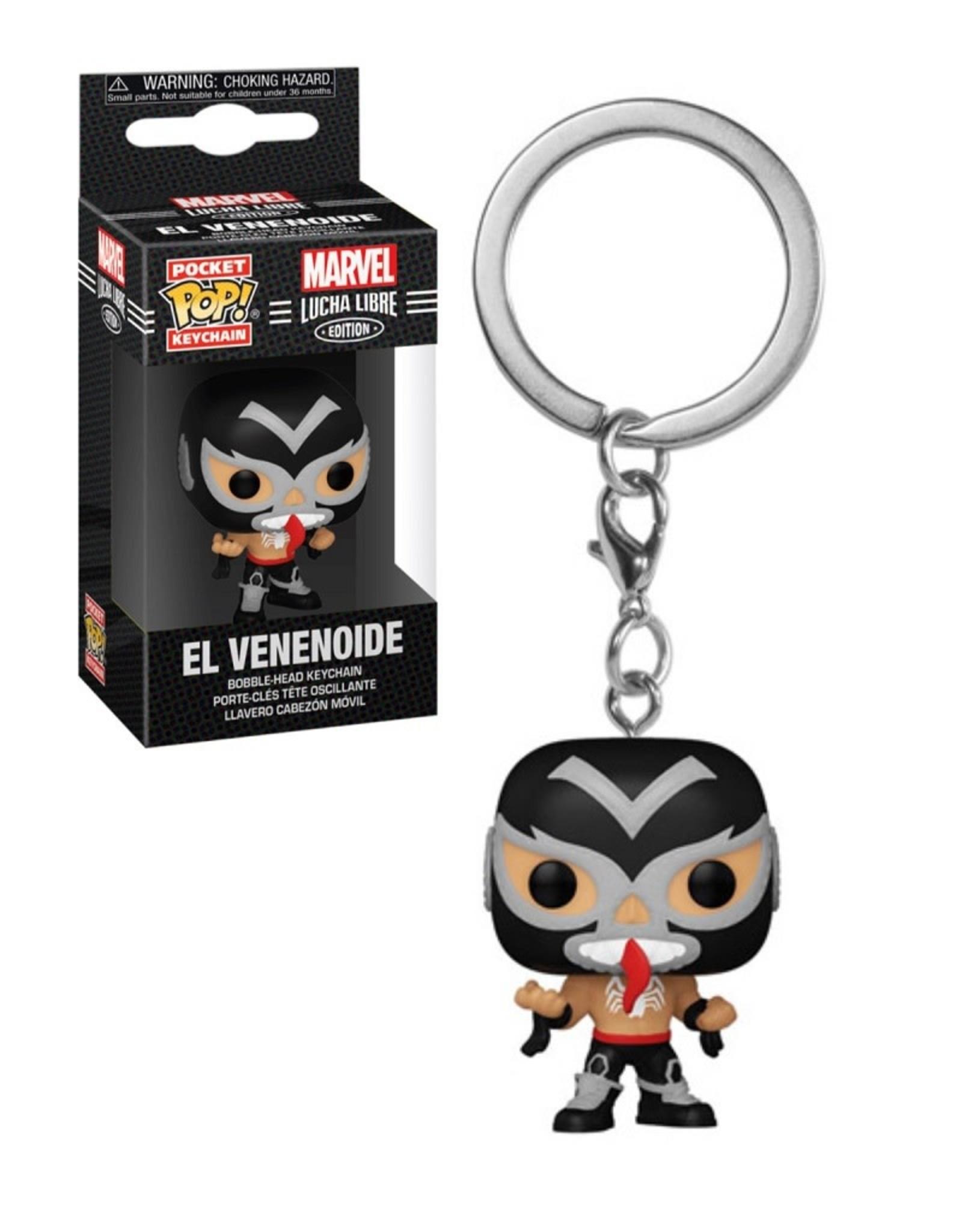 Marvel Marvel Lucha Libre ( Funko Keychain ) El Venenoide