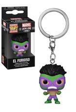 Marvel Marvel Lucha Libre ( Funko Keychain ) El Furioso