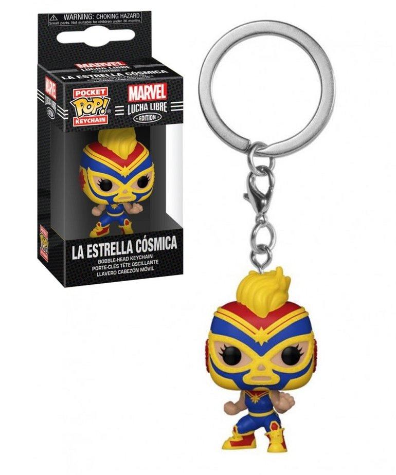 Marvel Marvel Lucha Libre ( Funko Keychain ) La Estrella Cosmica
