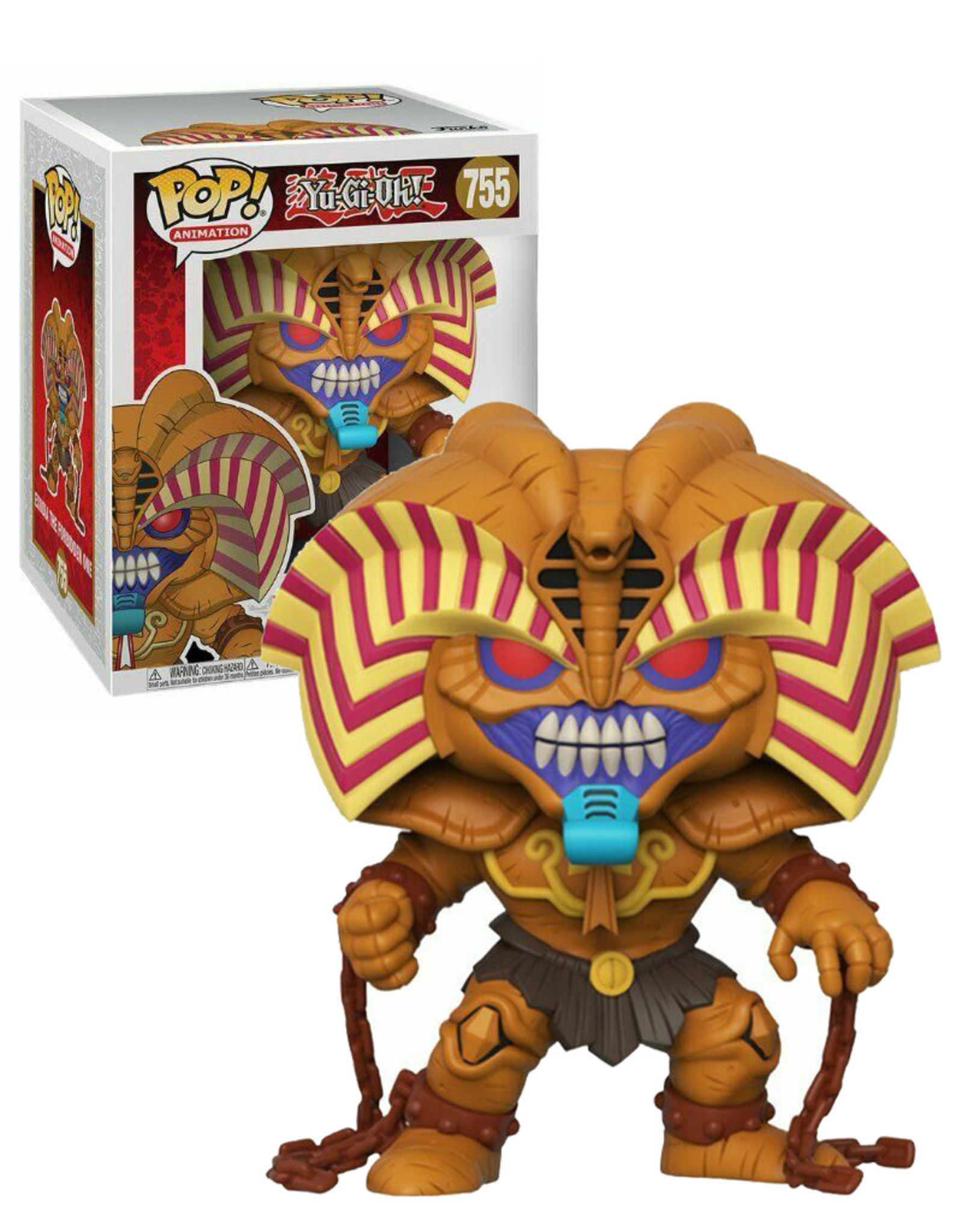 Yu-Gi-Oh! 755 ( Funko Pop ) Exodia The Forbidden One