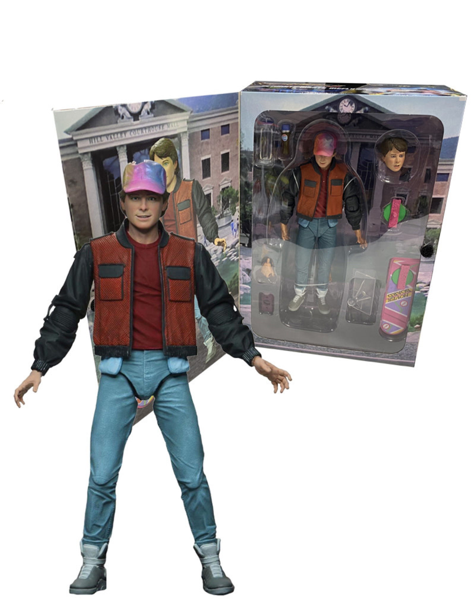 Back to the Future II  ( Neca Figurine ) Marty McFly