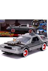 Back To The Future 3 ( Die Cast 1: 24 ) Time Machine