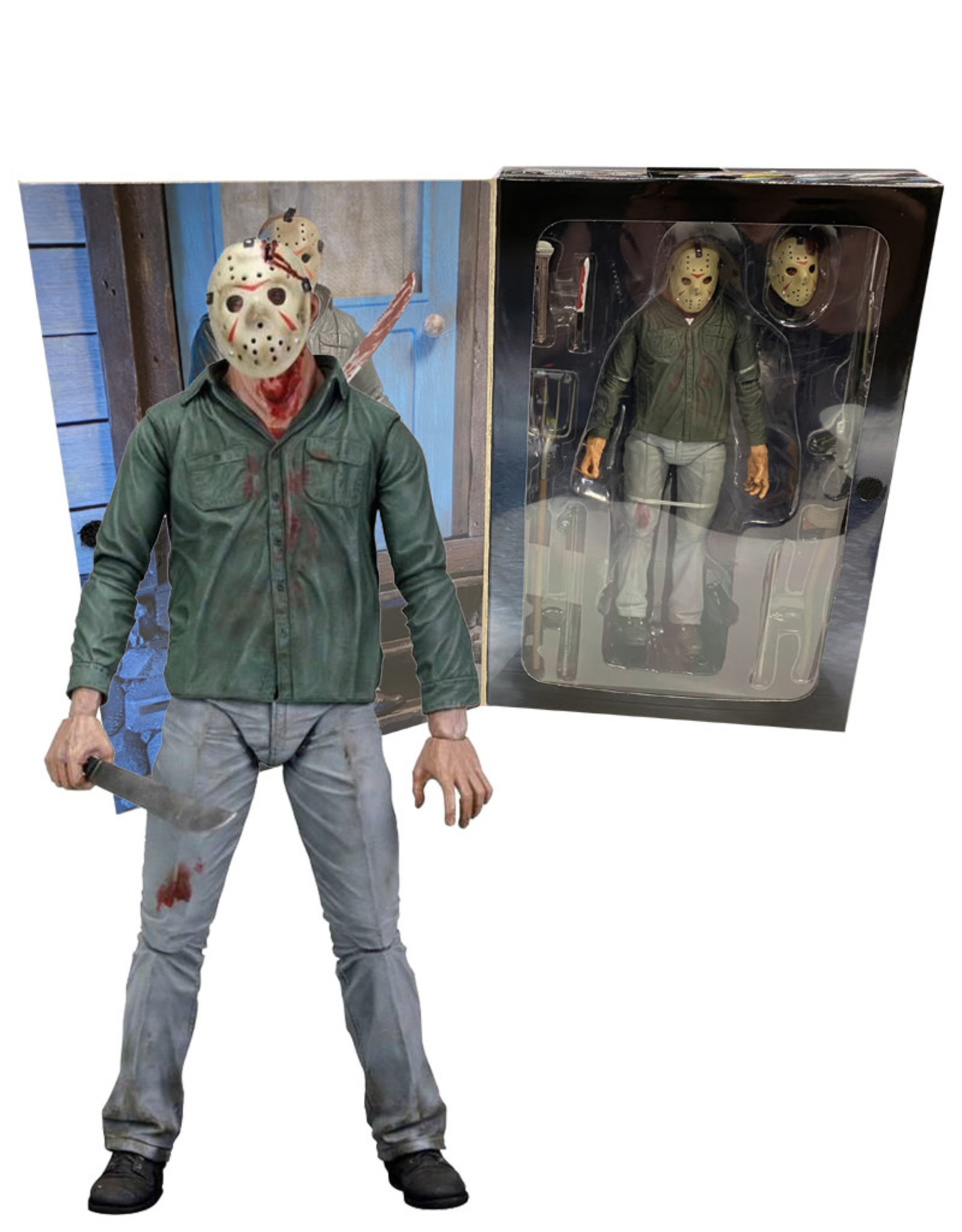 Friday The 13th ( NECA Figurine  ) Part 3  3D