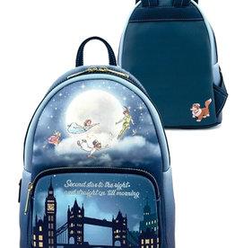 Disney Disney ( Loungefly Mini Backpack ) Peter Pan '' Glow in the Dark ''