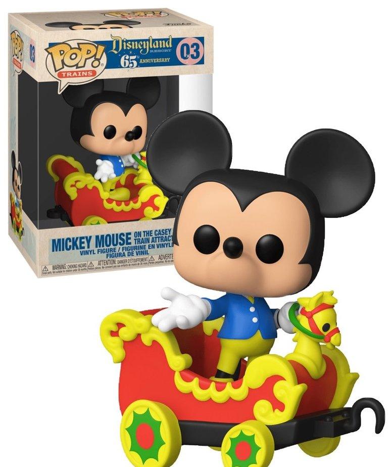 Disneyland 03 ( Funko Pop ) Mickey Mouse train attraction
