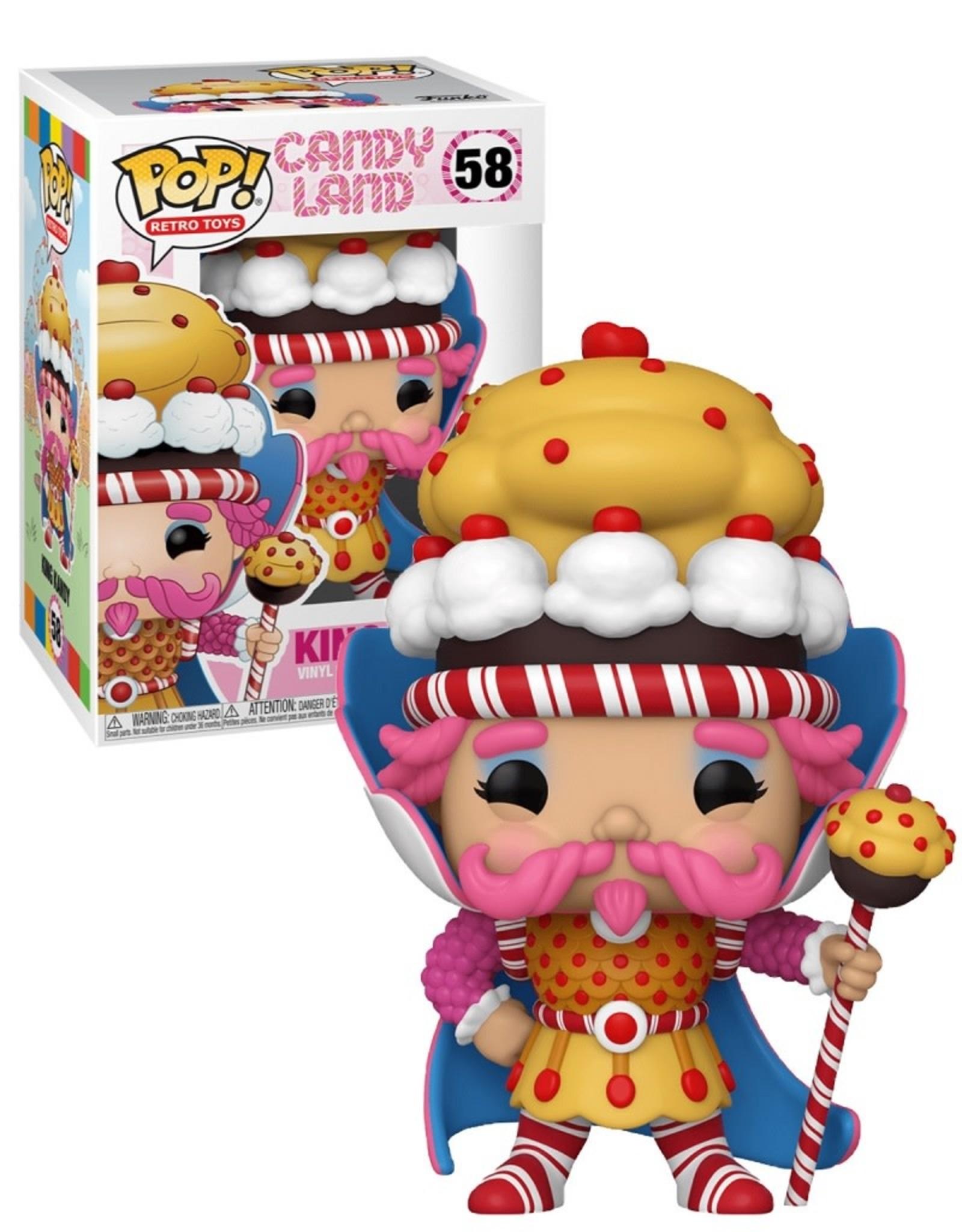 Candy Land 58 ( Funko Pop ) King Kandy