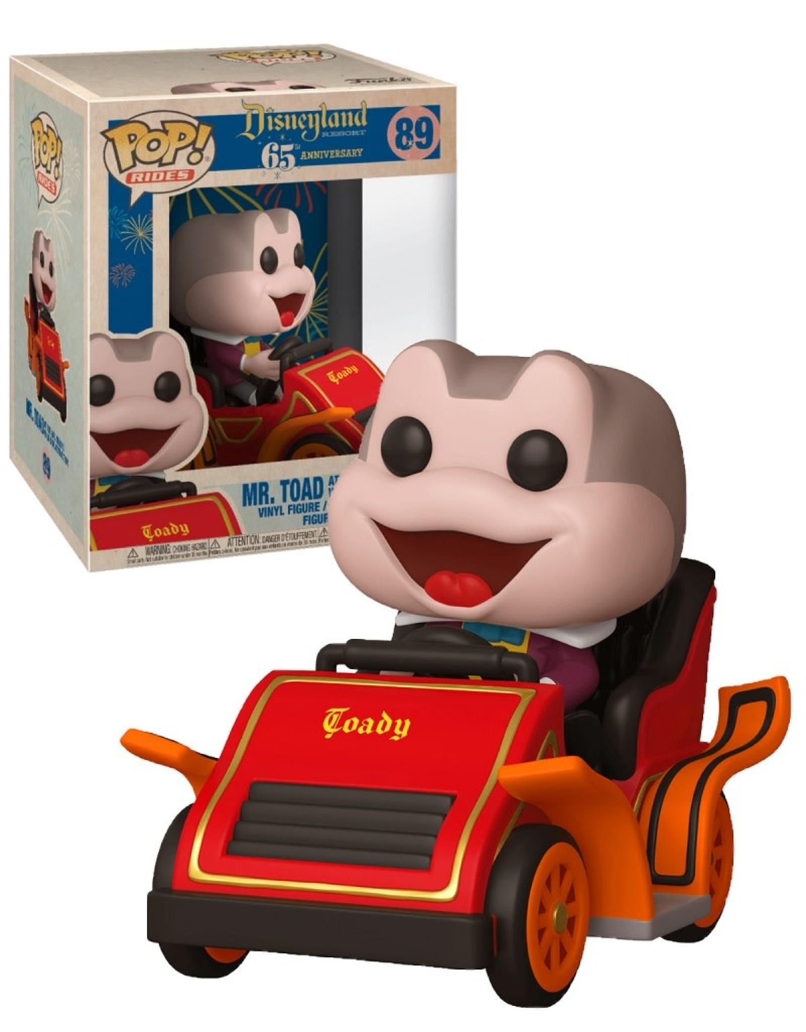 Disneyland 89 ( Funko Pop ) Mr. Toad Ride attraction