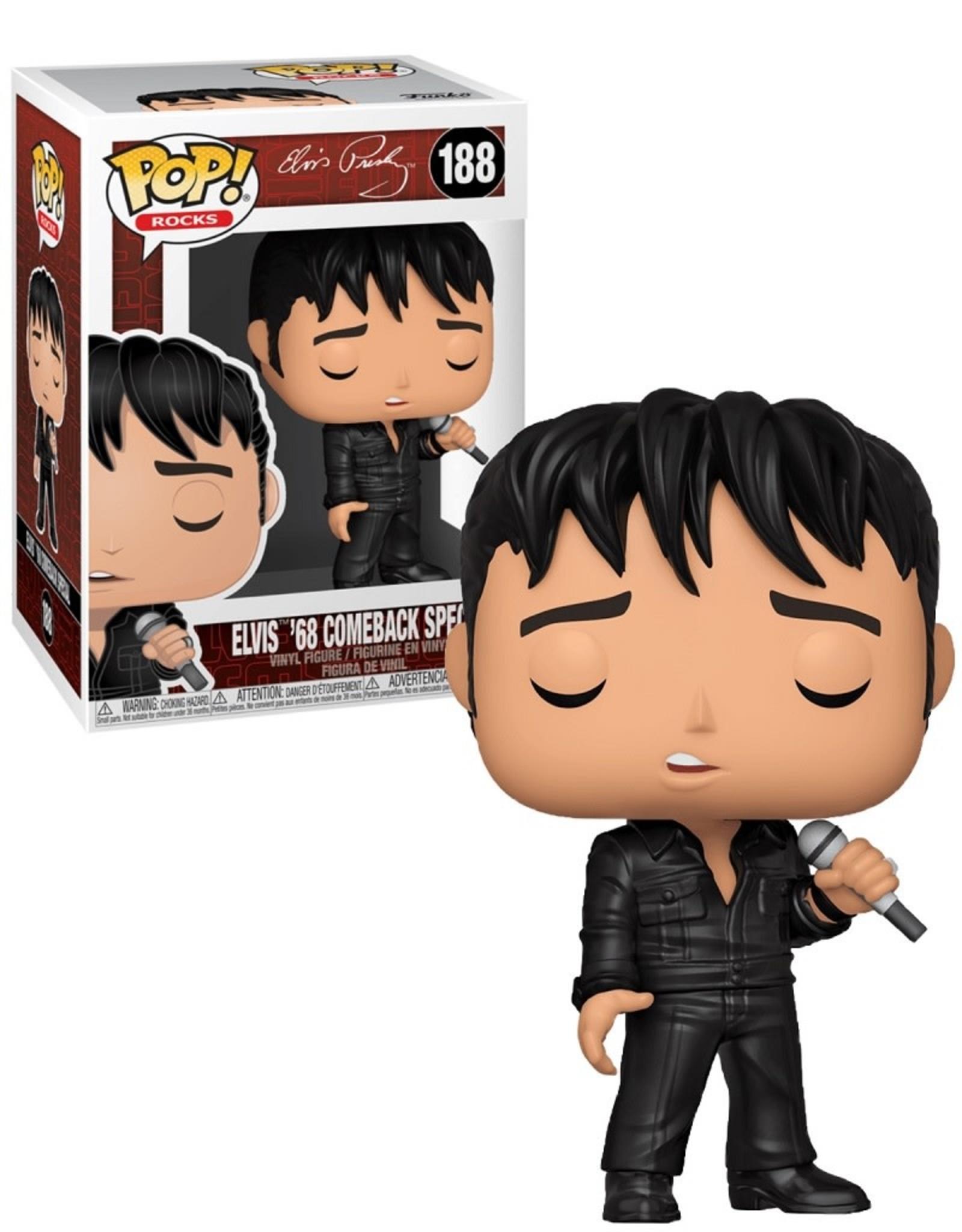 Elvis Presley 188 ( Funko Pop ) Elvis 68' Comeback Special